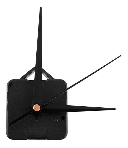 Mecanismo De Reloj De Pared Manecillas Negras (pz)