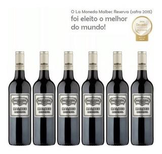Oferta Vinho Tinto Chileno La Moneda Malbec Chile Caixa C 6
