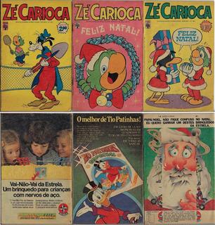 1976 A 1977 Hq Quadrinhos Zé Carioca Nº 1307 1309 E 1361