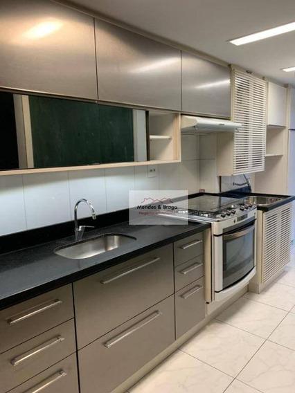 Apartamento Com 2 Dormitórios À Venda, 83 M² Por R$ 536.000,00 - Jardim Zaira - Guarulhos/sp - Ap1870