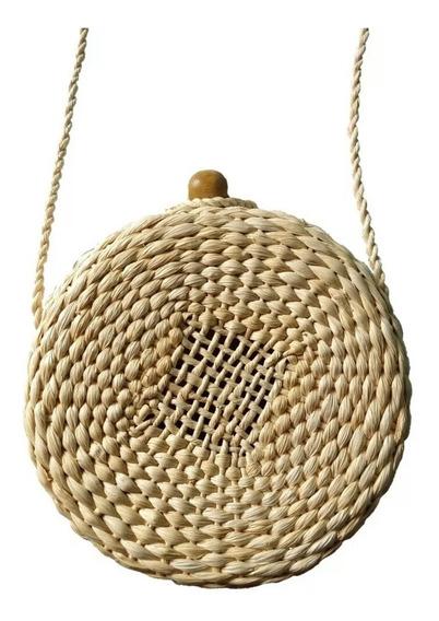 Bolsas De Praia Palha Circol Bag Redonda