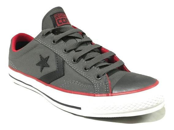 Zapatillas Converse Star Player Ox Monocrome Grey - 138436b