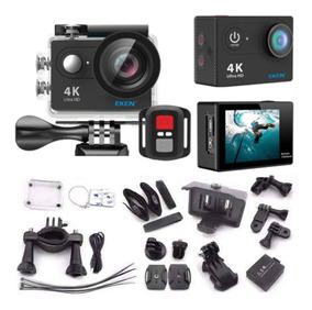 Câmera De Ação Original Eken H9r 4k C/ Controle Tela Lcd 2