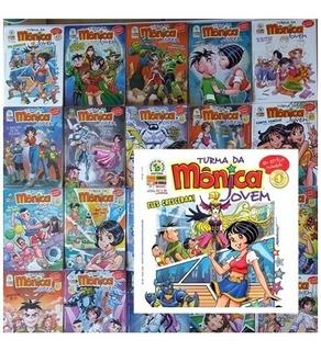 Turma Da Mônica Jovem Panini 2008 1ª Série Com 71 Mangá Hq