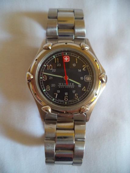 Relógio Pulso Wenger S. A. K. Design - Calendário