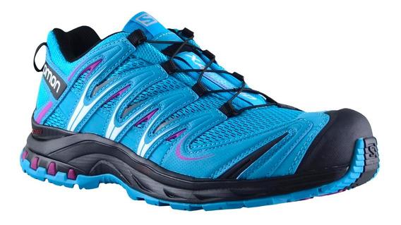 Zapatillas Mujer Salomon Trail Running Xa Pro 3d Bl/bl