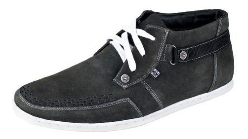 Zapatillas T.u.k. Importadas-cuero Gamuzado-unico Par N40/41