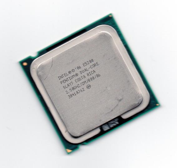 Processador Intel Dual Core E5200 2.50ghz Lga 775 + Frete