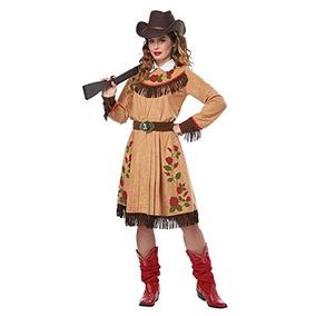 0e47cbcaba Disfraz De Halloween De Annie Oakley Vaquera Para Mujer