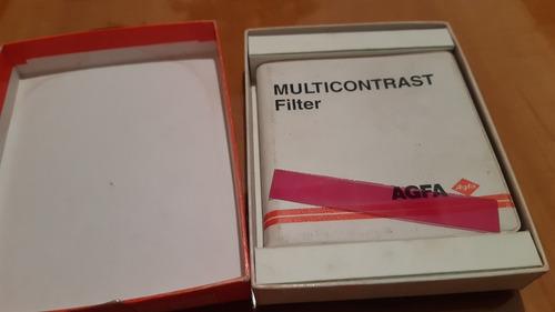 Filtros Agfa Multicontrast Para Ampliadoras Fotograficas