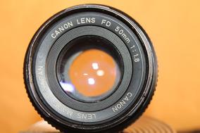 Lente Canon 50mm 1.1.8