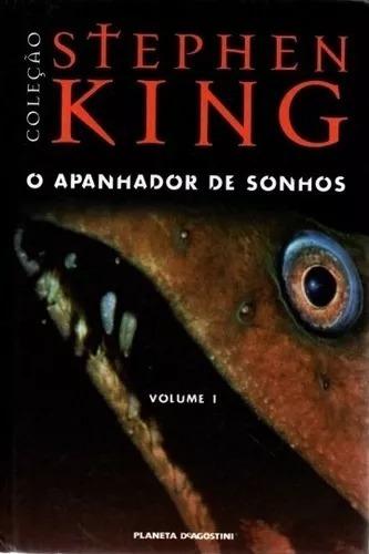 Livro- Stephen King- O Apanhador De Sonhos-vol 1 Raro+brinde