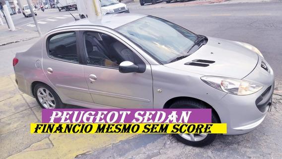 Peugeot Sedan 207 Financio Com Score Baixo