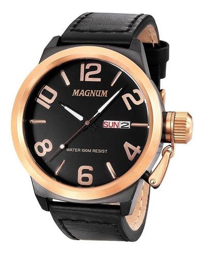 Relógio Masculino Magnum Analógico Ma33399u - Preto