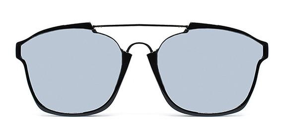 Lente De Sol Tornasol Color Plateado, Glasses G3 Pop7154