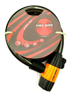 Linga Candado De Seguridad Bicicleta Fire Bird 12mm-works