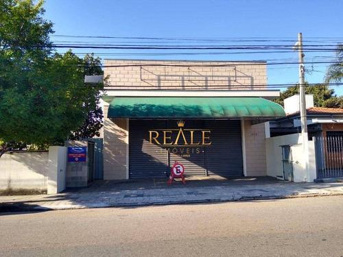 Imagem 1 de 12 de Salão Para Alugar, 260 M² Por R$ 6.200,00/mês - Centro - Vinhedo/sp - Sl0116