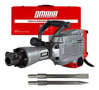 Martillo Demoledor Omaha De-16hex 1700 W 60 J + Maletín