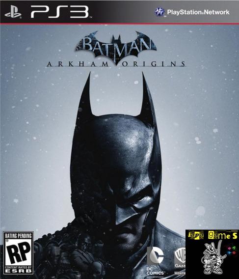 Batman Arkham Origins Jogos Ps3 Psn Original Receba Hoje