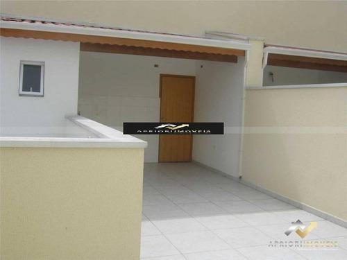Cobertura À Venda, 114 M² Por R$ 370.000,00 - Vila Floresta - Santo André/sp - Co0782