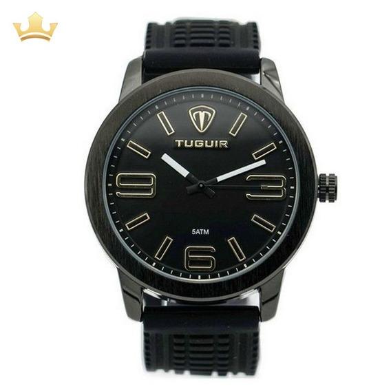 Relógio Masculino Tuguir Analógico 5320g Com Nf