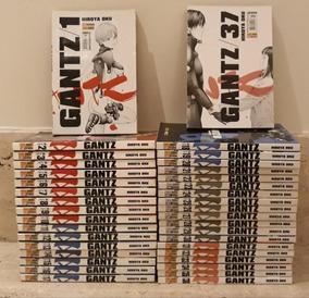 Mangá Gantz 1 Ao 37 Completo! (480 R$ À Vista!)