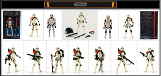 Star Wars Sandtrooper 6 Inch Bs Swargento!