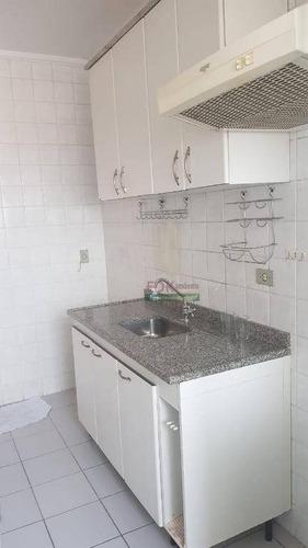Imagem 1 de 22 de Apartamento Com 3 Dormitórios À Venda, 70 M² Por R$ 330.000,00 - Vila Industrial - São José Dos Campos/sp - Ap3261