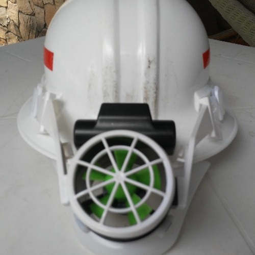 Fan Para Casco De Seguridad Industrial, Recargable, Confort