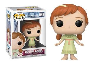 Funko Pop Disney Frozen 2 Young Anna 589 Original Nuevo