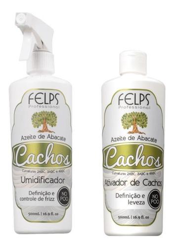 Felps Cachos Ativador De Cachos + Umidificador