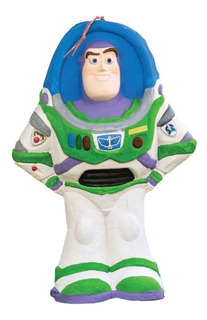 Disney Piñata De Carton 3d Buzz Lightyear Original Oferta!