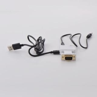 Cable/convertidor/adaptador Vga A Hdmi Con Audio