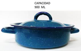 Cacerola Azul Turquesa 14 Cm 900 Ml (4 Pzas), Incluye Envío