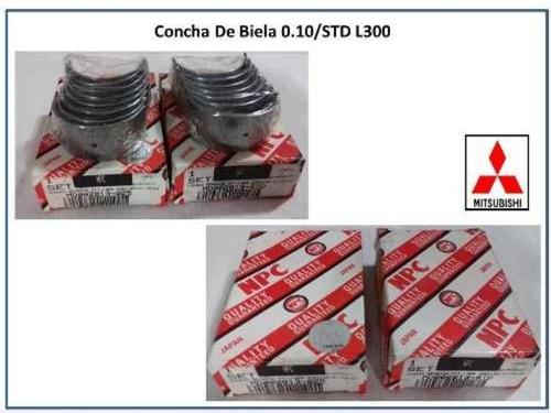 Conchas De Bielas Mitsubisho L300 Mx Mf  L200 Std/10/20 23v