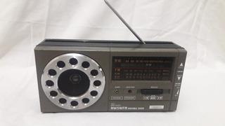 Radio Portátil Continental - Vintage (anos 80) - Funcionando