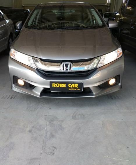 Honda City Ex Cinza 1.5, Automático, Flex