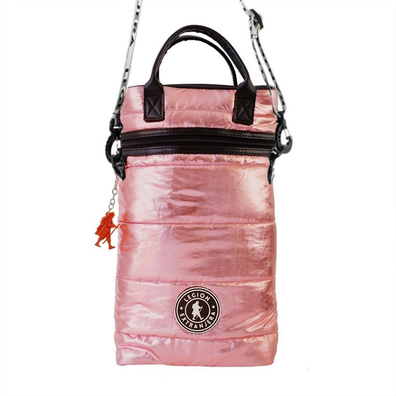 Mochila Matera Diamond Jazz Rosa Metal Legion Extranjera
