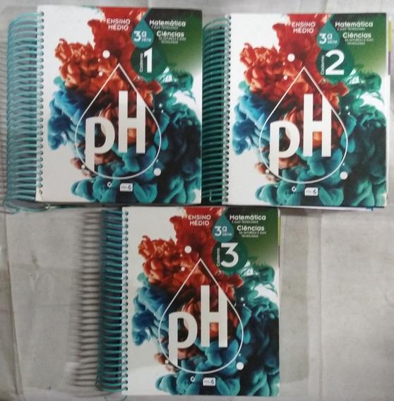 Ensino Médio Ph 3ª Série 3 Volumes Matemática Ciências 2018