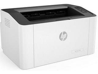 Impresora Laser Negro Hp 107a Cableada- Aj Hogar