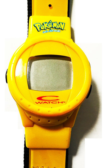C Watch Pokemon Yellow - Reloj Pikachu