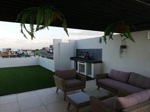 Precioso Penthouse, Triple Altura, Roofgarden, Alberca, 3rec