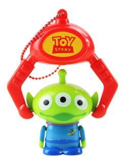 Toy Story Aliens Marciano Verde 3 Ojos Rojo