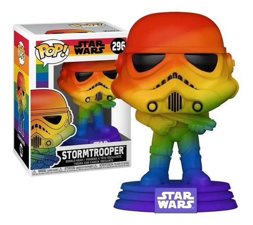 Imagem 1 de 4 de Boneco Funko Pop Stormtrooper Pride 296 - Star Wars Original