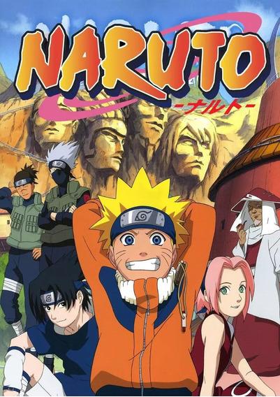 Dvd Naruto Clássico - Série Completa Frete Gratis