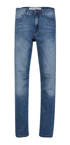 Jean Pantalon Hombre Algodón Prelavado Moda Slim Fit Brooksfield