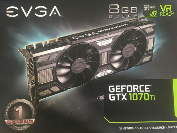 Placa De Vídeo Evga Geforce Gtx 1070 Ti 8gb