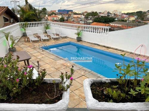 Imagem 1 de 19 de Sobrado Com 3 Dormitórios À Venda, 160 M² Por R$ 500.000,00 - Vila Dos Andradas - São Paulo/sp - So3676