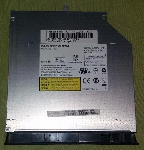 Gravador Drive Dvd Note Asus K43u Ds-8a8sh