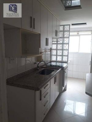 Apartamento Residencial Para Locação, Vila Metalúrgica, Santo André - Ap6370. - Ap6370